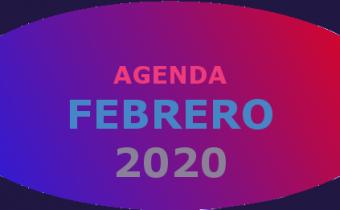 Agenda febrero 2020
